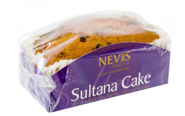 Additional Products - Nevis Sultana Cake